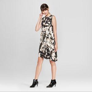 Prologue Sleeveless Draped Asymmetric Dress
